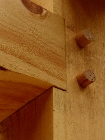 Timber joinery.